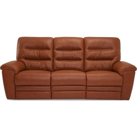 Sofa Power Recliner w/ Power Headrests