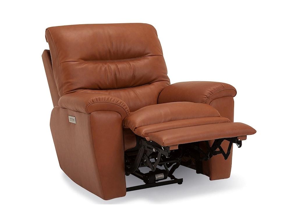 Palliser KeiranWallhugger Pwr Recliner w/ Headrest & Lumbar