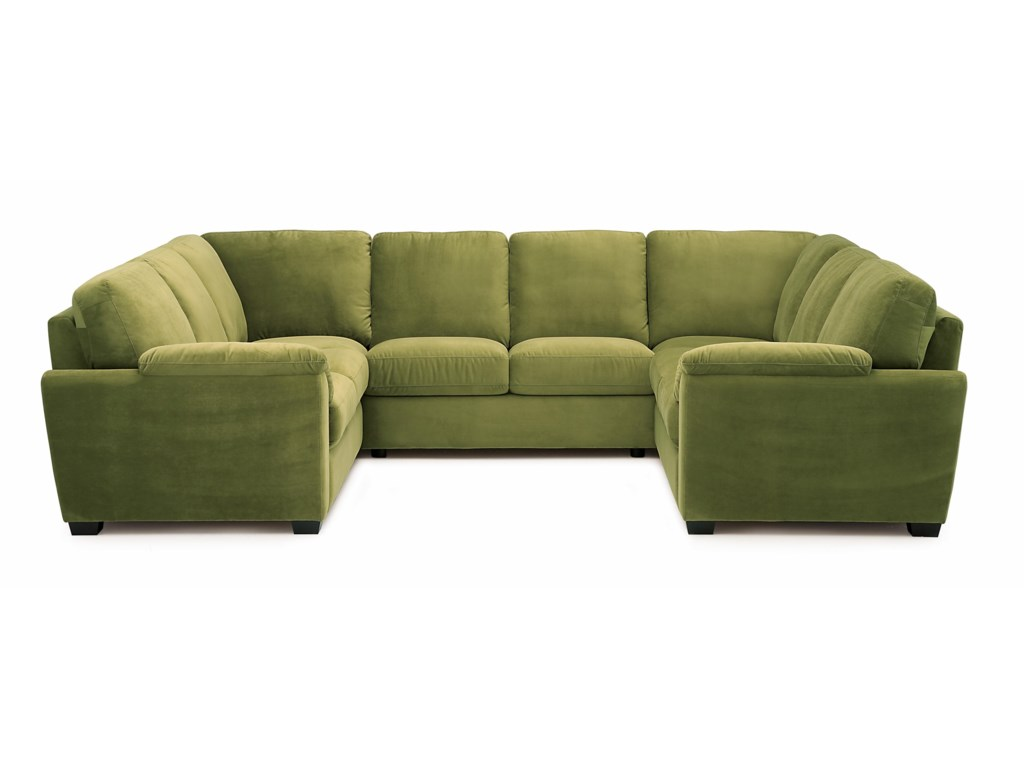 Palliser lanzafive piece sectional sofa