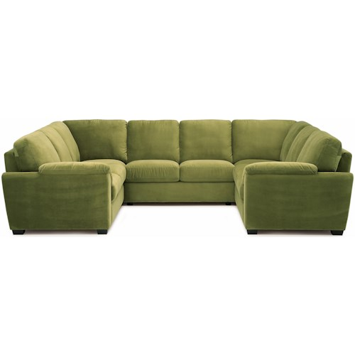 Palliser Lanza Casual Square Sectional Sofa