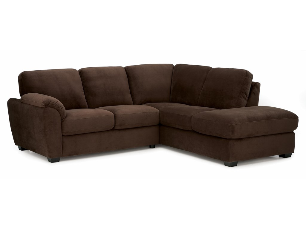 Lanza Casual Sectional Sofa With Lhf Corner Chaise