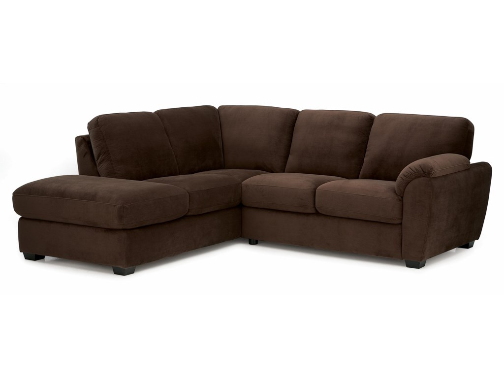 Palliser LanzaTwo Piece Sectional Sofa with RHF Chaise