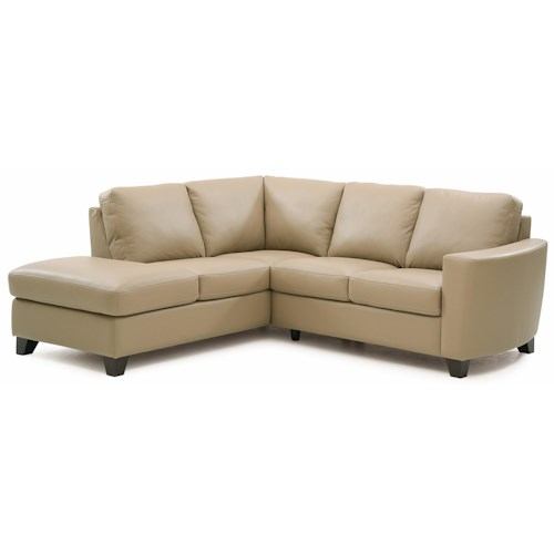 Palliser Leeds Contemporary 2-piece Sectional with LAF Chaise