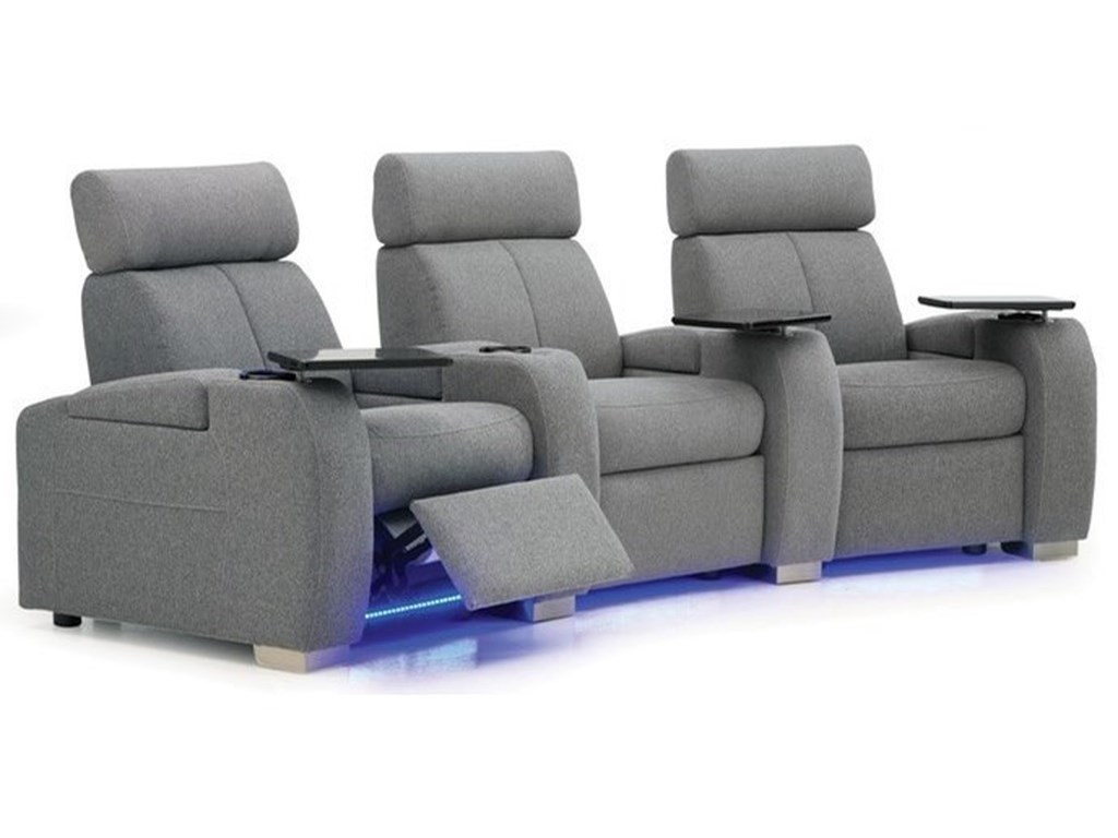 Palliser Lemans 40828Reclining Home Theater Seating