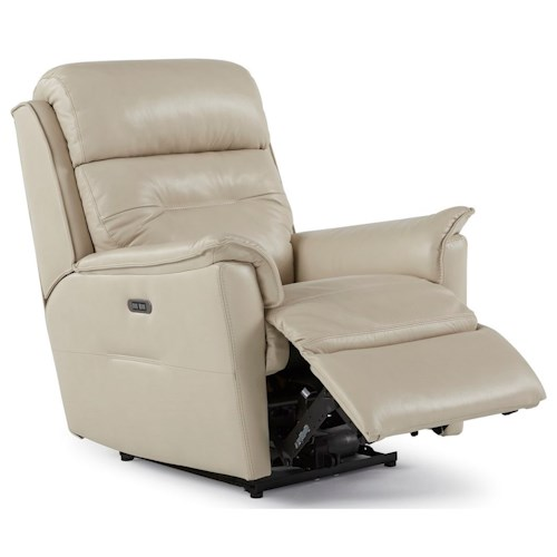Palliser Linden Contemporary Power Rocker Recliner with Power Headrest