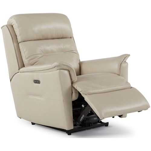 Palliser Linden Contemporary Power Wall Hugger with Power Headrest