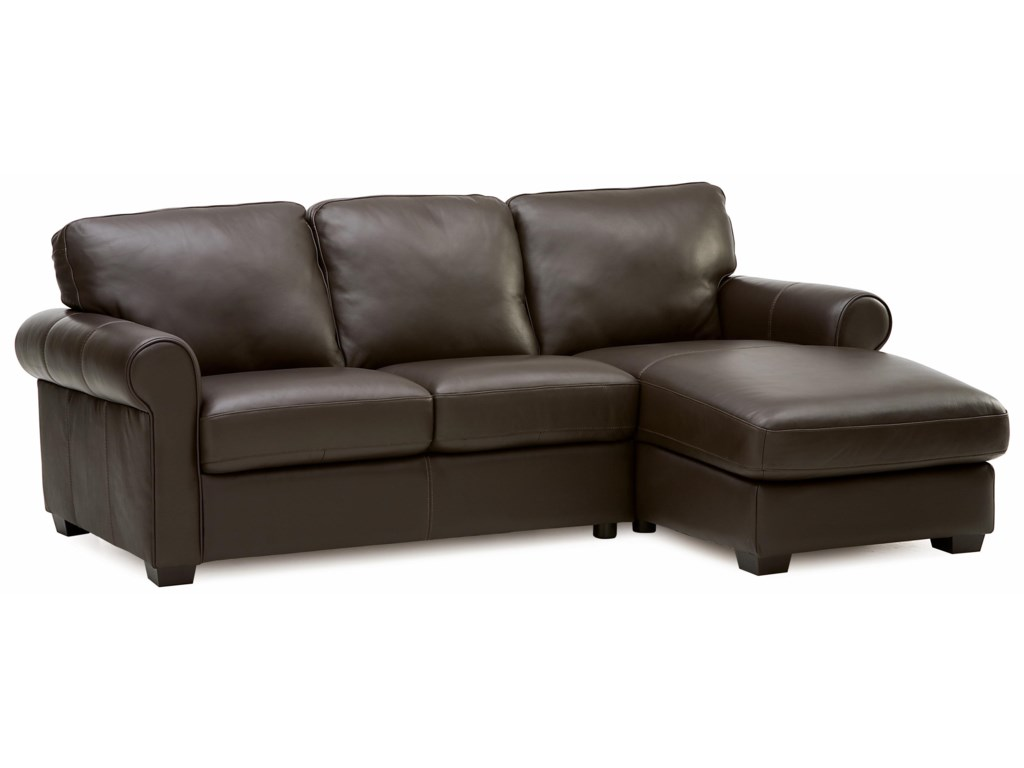 Palliser Magnum Transitional 2 pc. Sectional with Chaise | Wayside ...