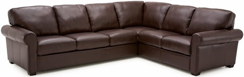 Palliser Magnum Transitional 2 pc. Sectional with RHF Sofa Split
