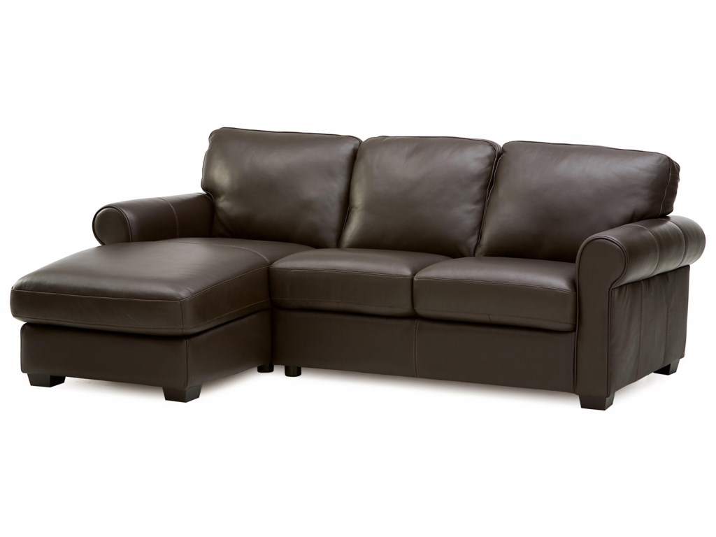 Palliser Magnum Transitional 2 pc. Sectional with LHF Chaise | Prime ...