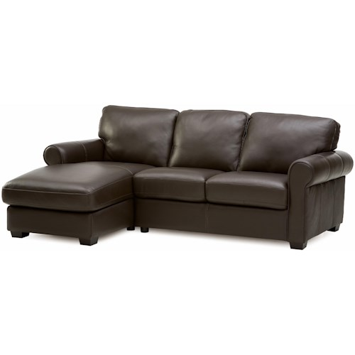 Palliser Magnum Transitional 2 pc. Sectional with LHF Chaise ...