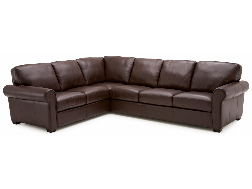 Palliser Magnum2 Pc Sectional Sofa With Lhf Split