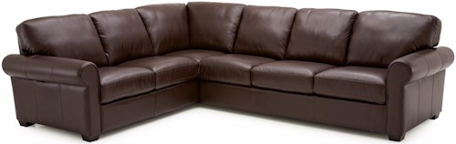 Palliser Magnum Transitional 2 pc. Sectional Sofa with LHF Sofa Split
