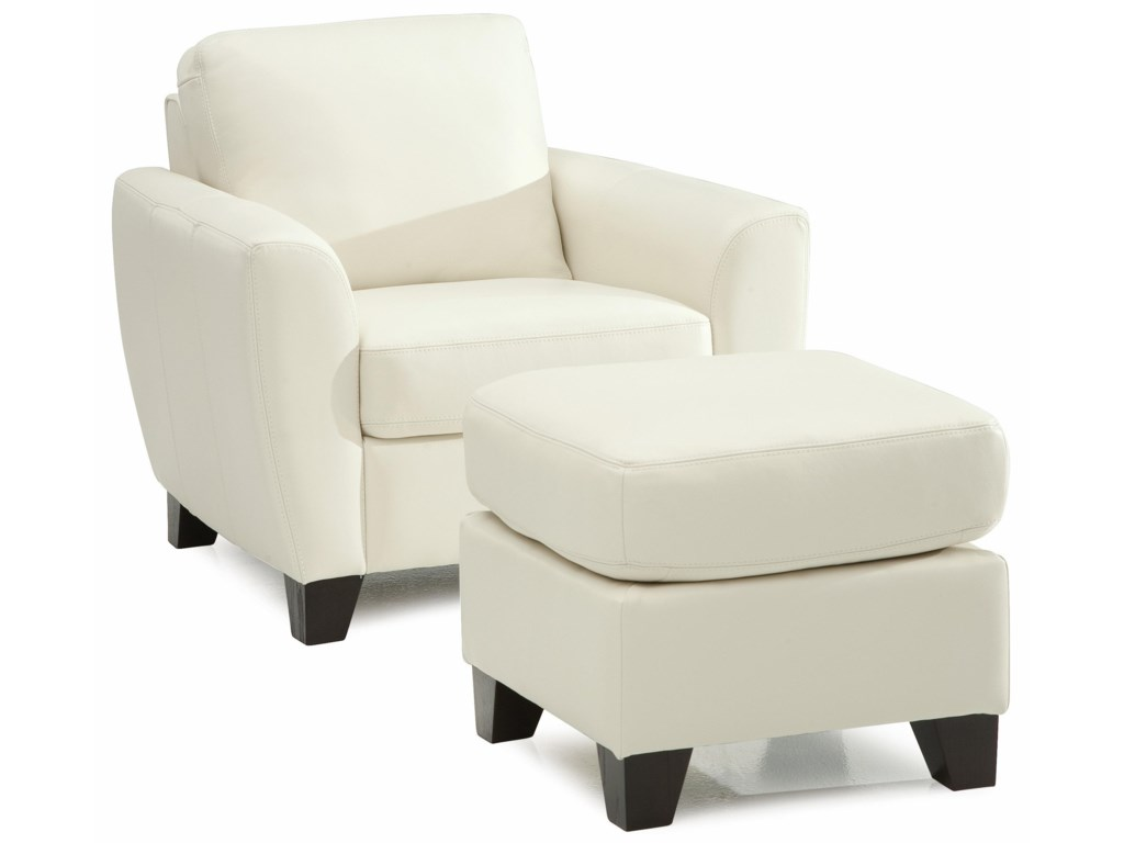 Palliser MarymountChair and Ottoman