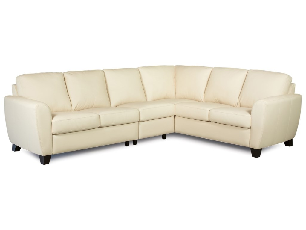 Palliser Marymount Contemporary 5-Seat Sectional Sofa with RAF ...