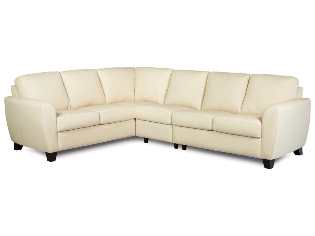 Palliser Marymount Contemporary 5-Seat Sectional Sofa with ...