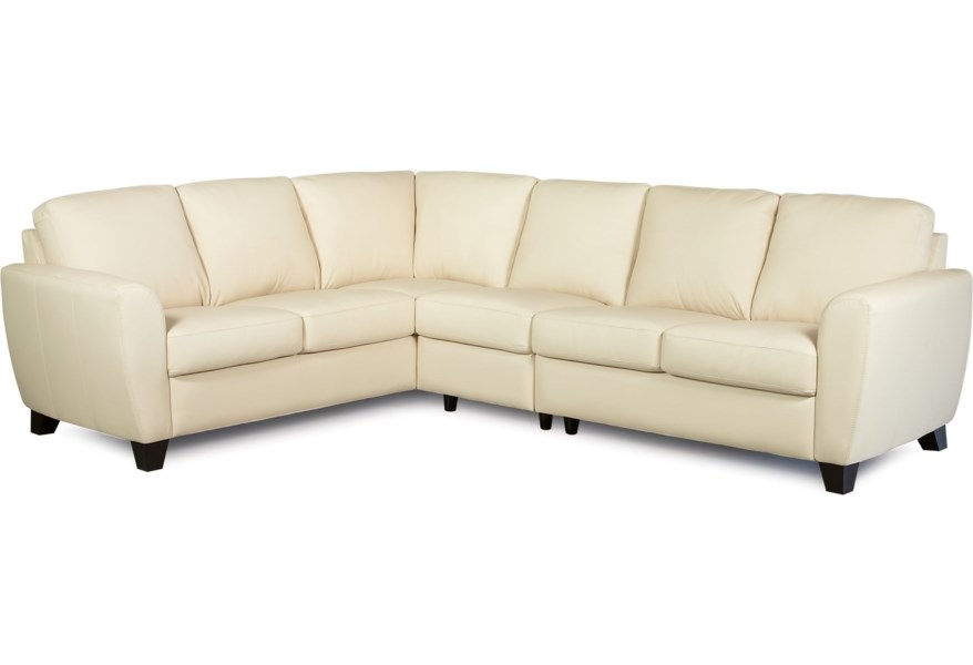 Contemporary 5 Seat Sectional Sofa