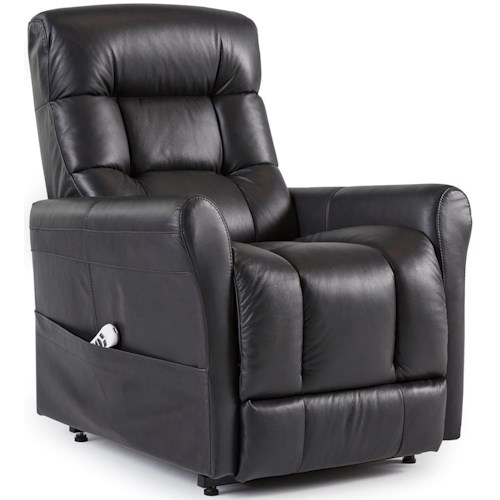 Palliser Meadowlake Contemporary Power Lift Chair with Rolled Arms