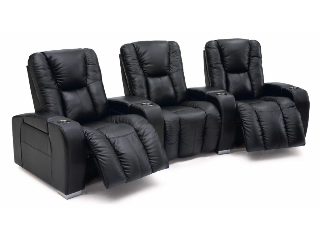 Palliser MediaPower Reclining Home Theater Sectional