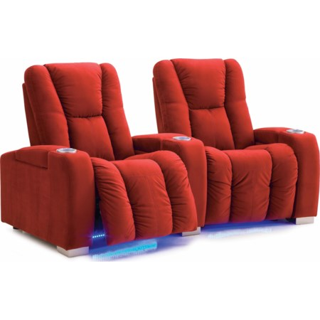 Reclining Power 2-Seater Sectional