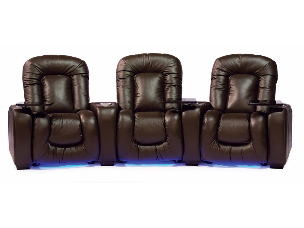 Palliser Mendoza 41404Reclining Home Theater Seating