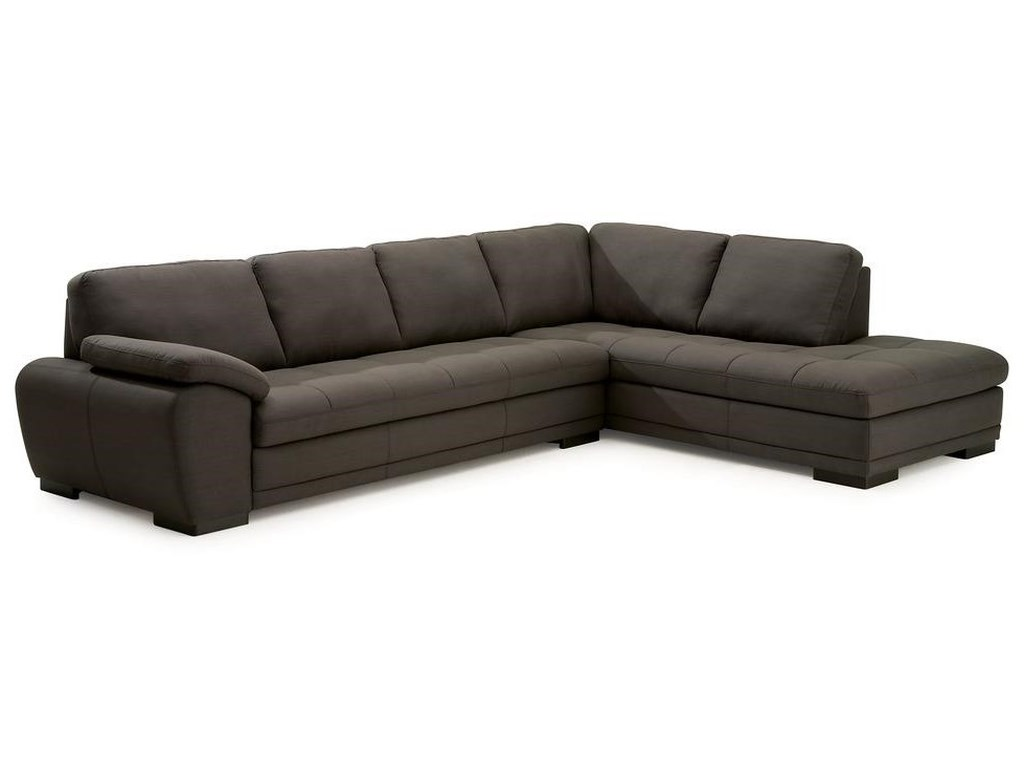 Palliser Miami Contemporary 2-Piece Sectional with Corner Chaise ...