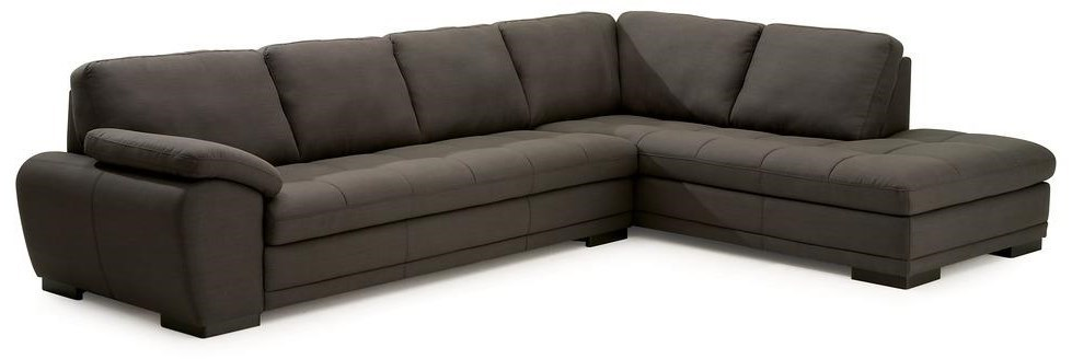 Palliser MiamiContemporary Sectional Sofa With Chaise ...