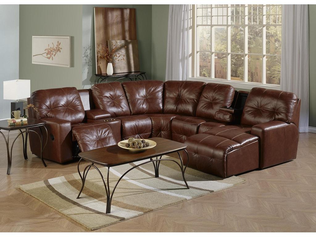 Palliser MystiqueReclining Sectional Sofa