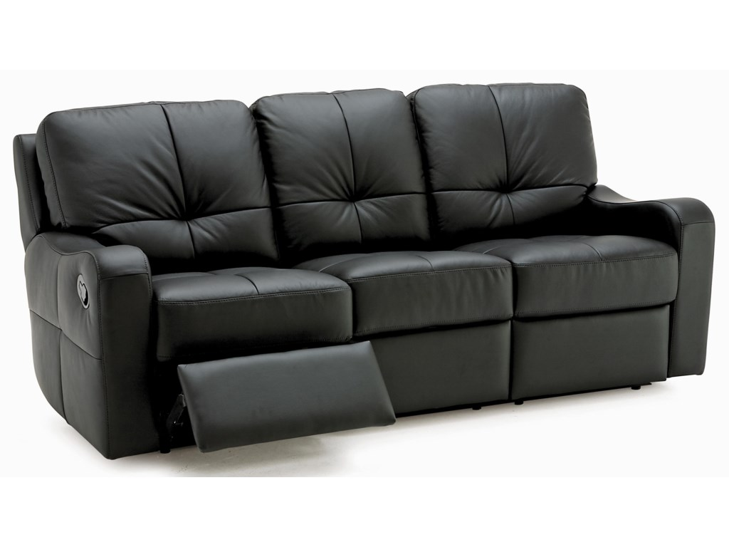 Palliser National Contemporary Sofa Recliner with Sloped ...