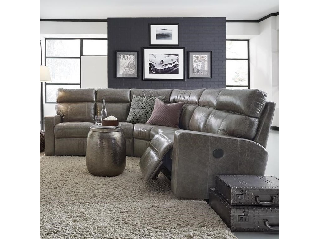 Palliser OakwoodReclining Sectional Sofa