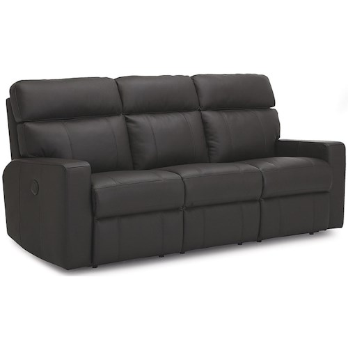 Palliser Oakwood Apartment-Size Power Reclining Sofa