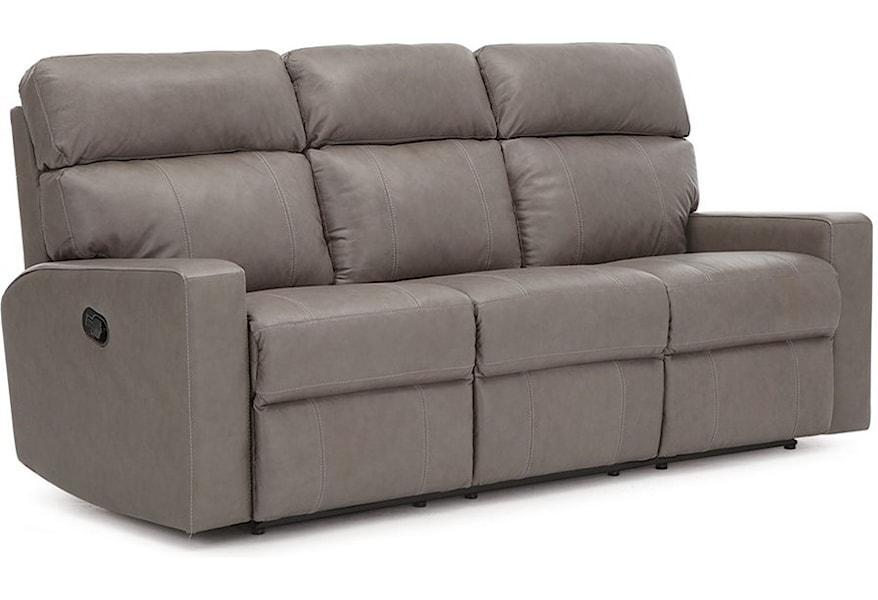 Palliser Oakwood Apartment-Size Power Reclining Sofa   Prime ...