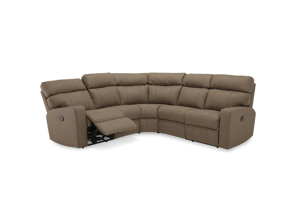 Palliser OakwoodPower Reclining Sectional Sofa