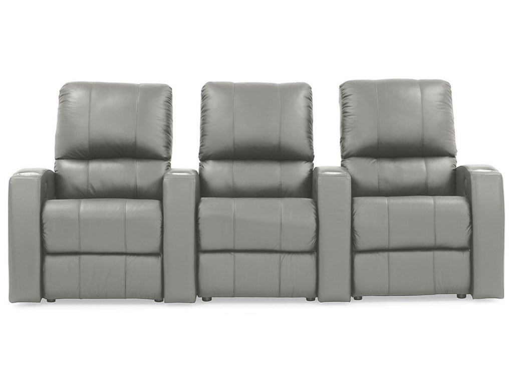 Palliser Pacifico 3-Seat Reclining Theater Seating