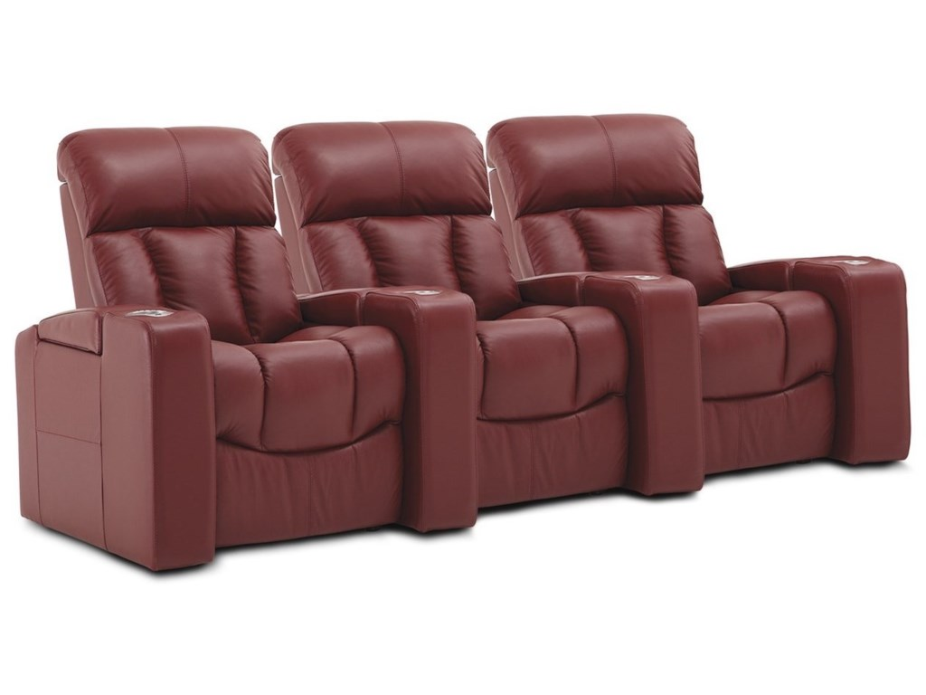 Palliser Paragon3-Seat Pwr Reclining Home Theater Sectional
