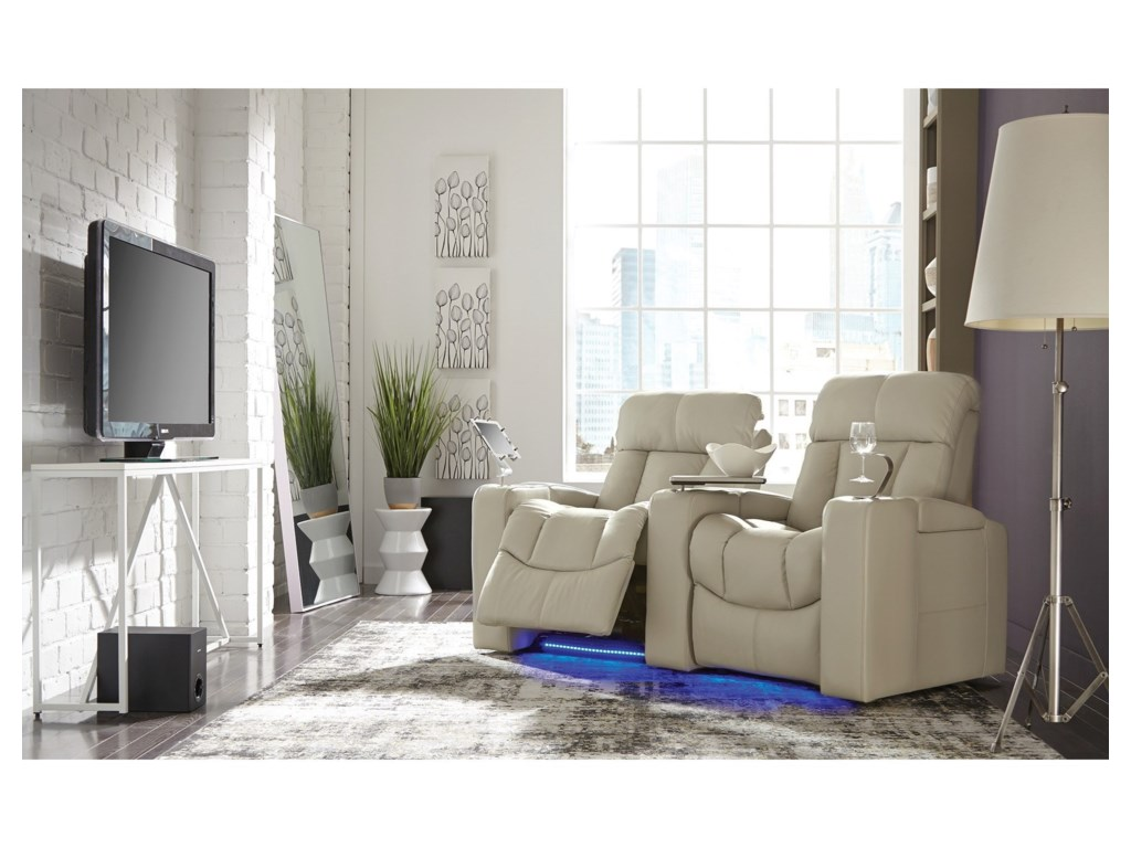 Palliser Paragon2-Seat Reclining Home Theater Seating