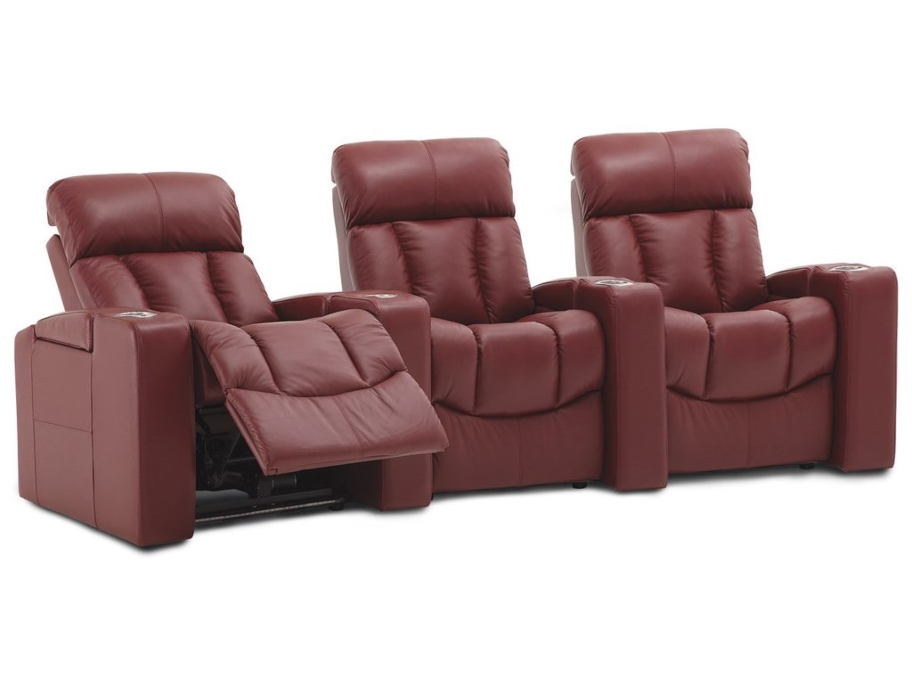 Palliser Paragon3-Seat Pwr Reclining Home Theater Set w/ Wdg