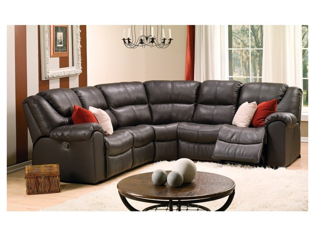 Palliser ParkvilleReclining Sectional
