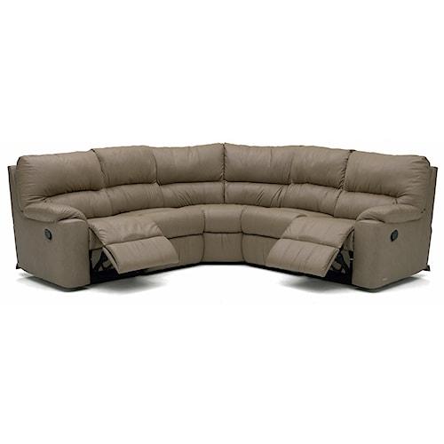 Palliser Picard Reclining Sectional Sofa