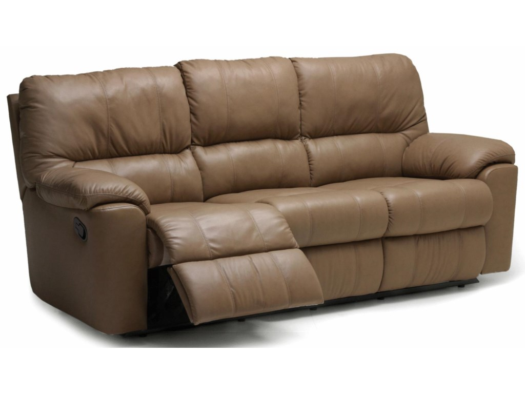 Picard 88 Casual Leather Reclining Sofa By Palliser
