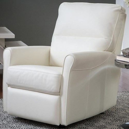 Palliser Pinecrest Casual Swivel Glider Recliner with Split Back