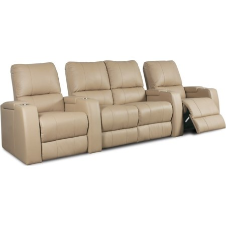 4 Person Power Theater Seating