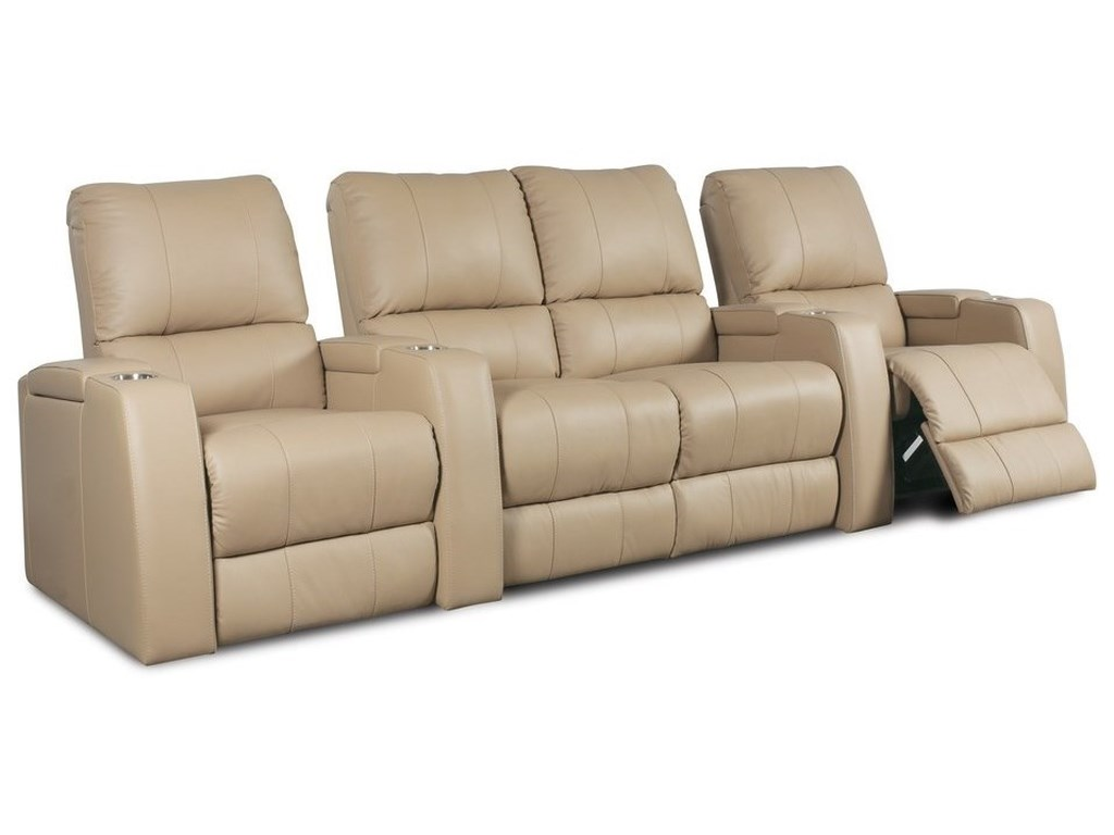 Palliser Playback4 Person Power Theater Seating