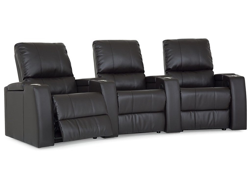 Palliser Playback3 Person Power Reclining Theater Seating