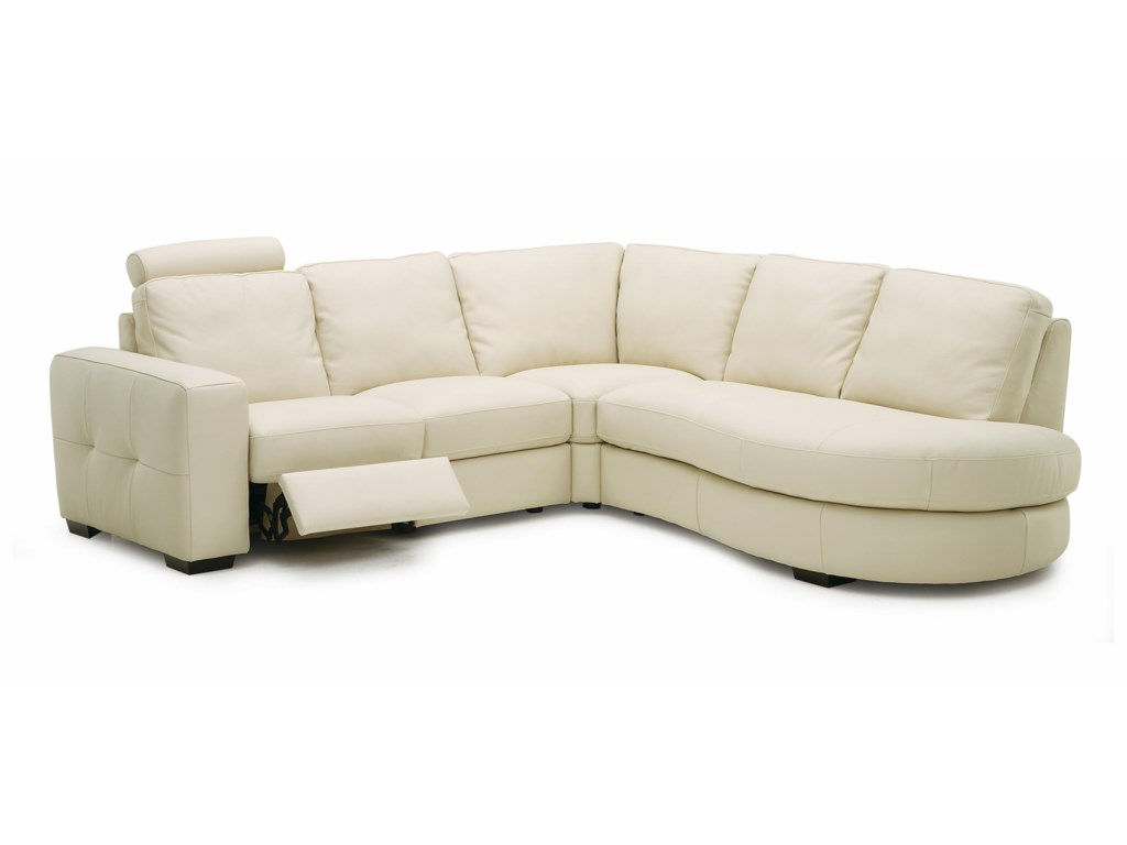 Palliser PushPower Reclining Sectional Sofa