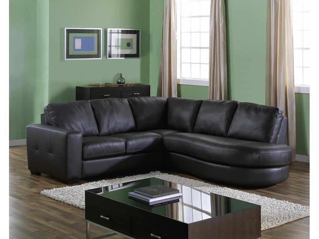 Palliser PushPower Reclining Sectional Sofa