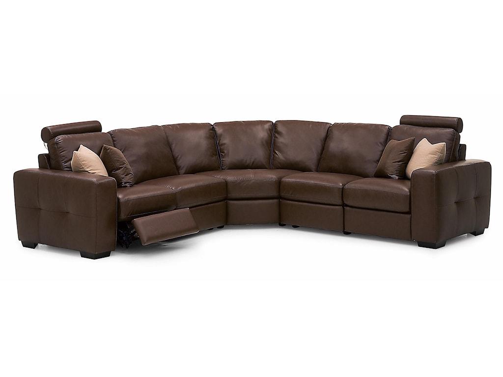 Palliser PushReclining Sectional Sofa