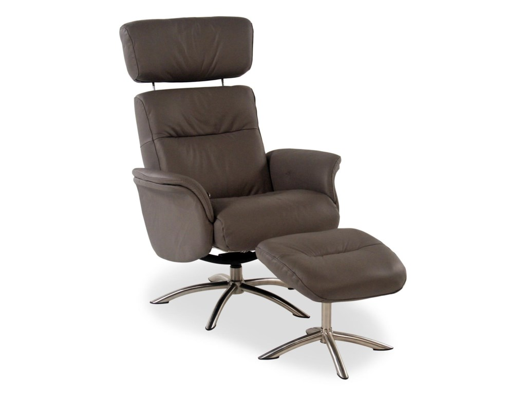 Palliser Quantumleather Reclining Chair And Ottoman