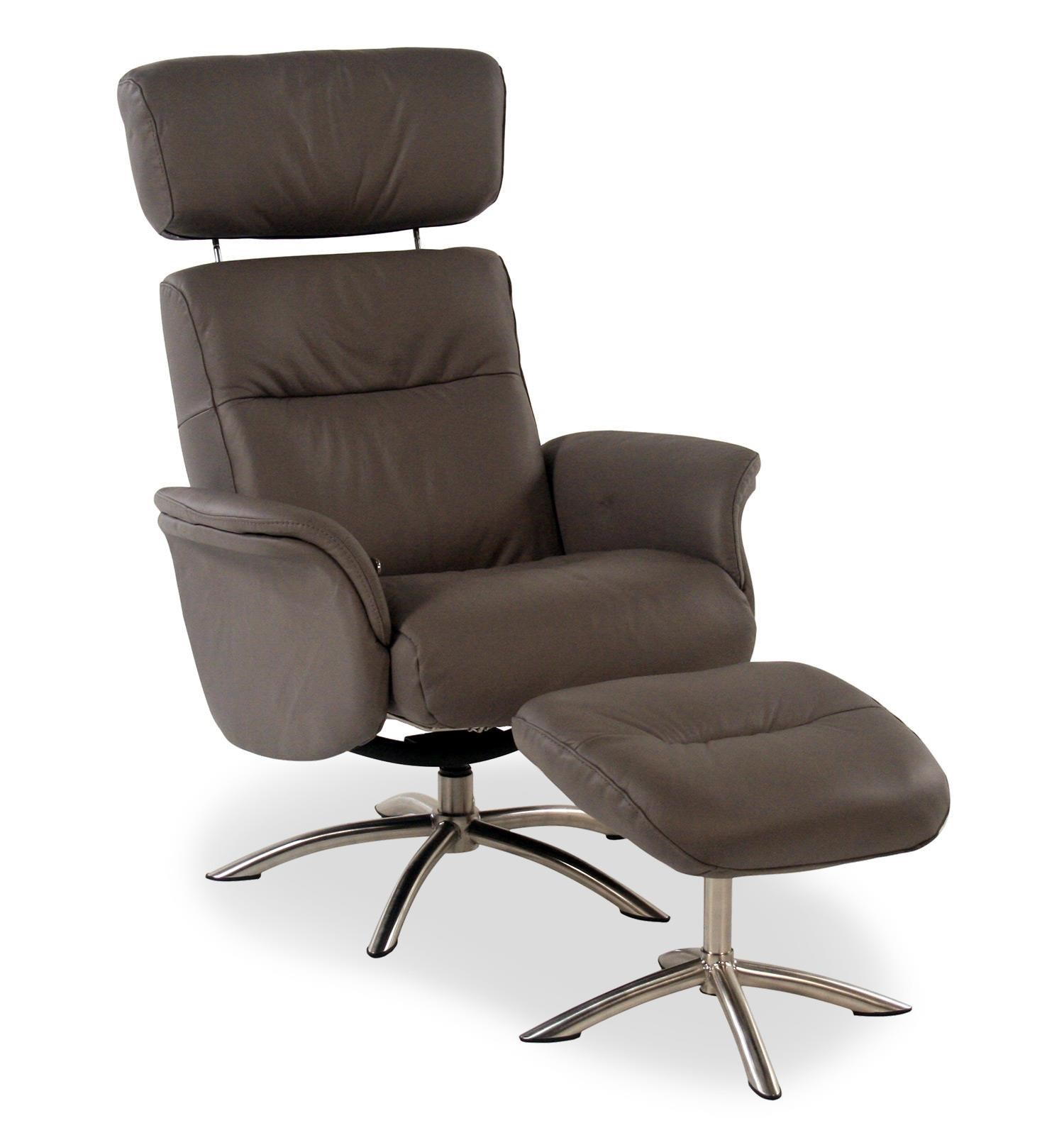 Superb Palliser QuantumLeather Reclining Chair And Ottoman