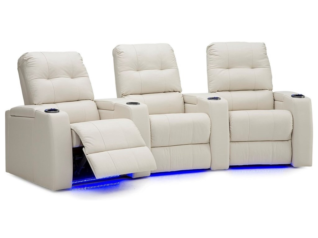 Palliser Record3-Seat Theater Seating Group