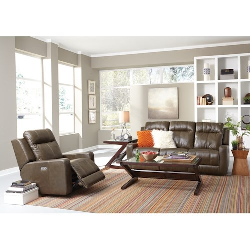 Palliser Redwood Power Reclining Living Room Group